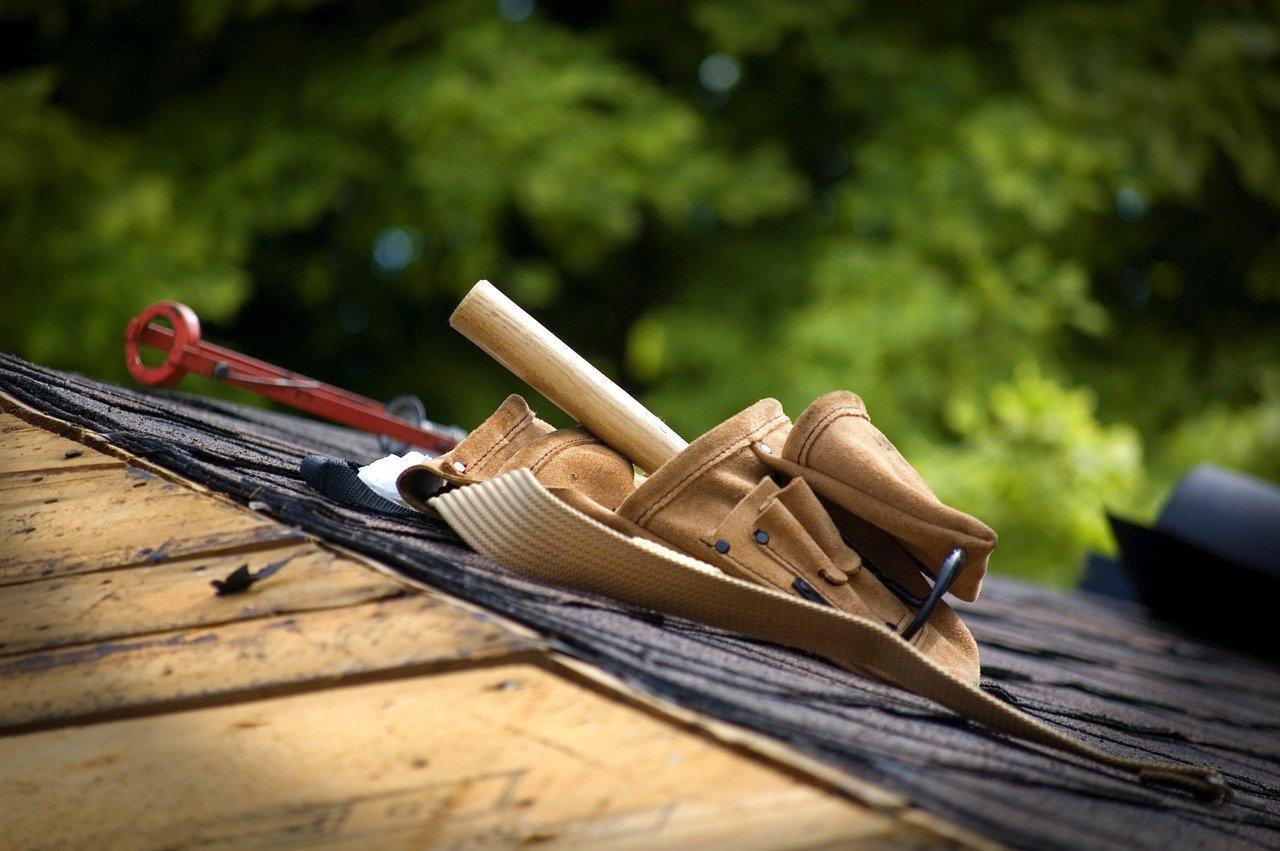 tool belt, roof, belt