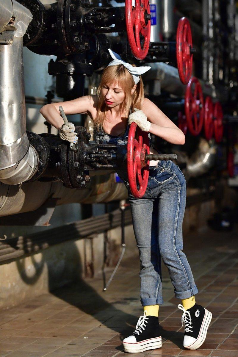 repair, water pipes, cosplay