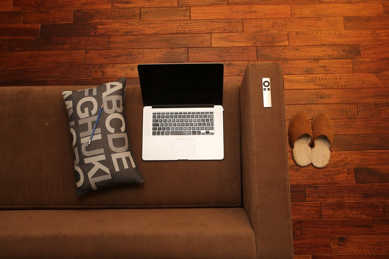 home office, notebook, home