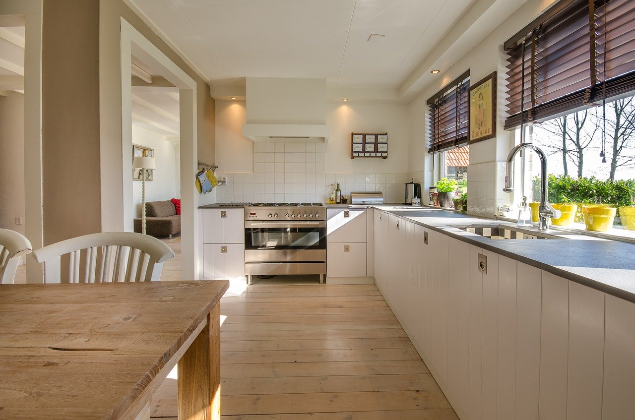 kitchen, home, interior