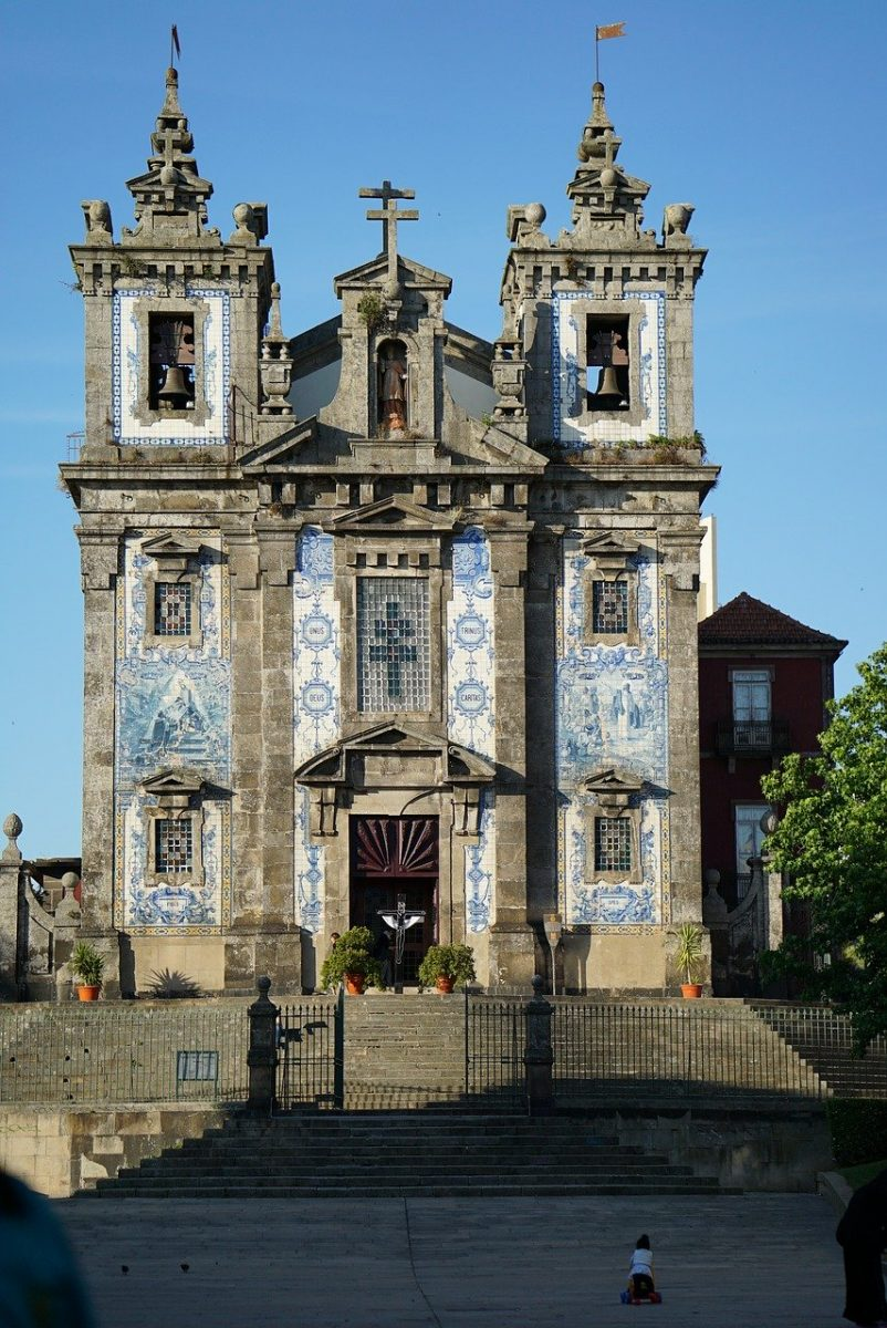 porto, portugal, saint ildefonso