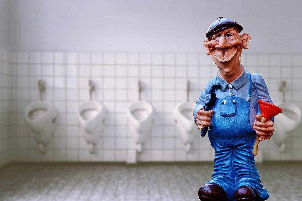 plumber, pömpel, figure