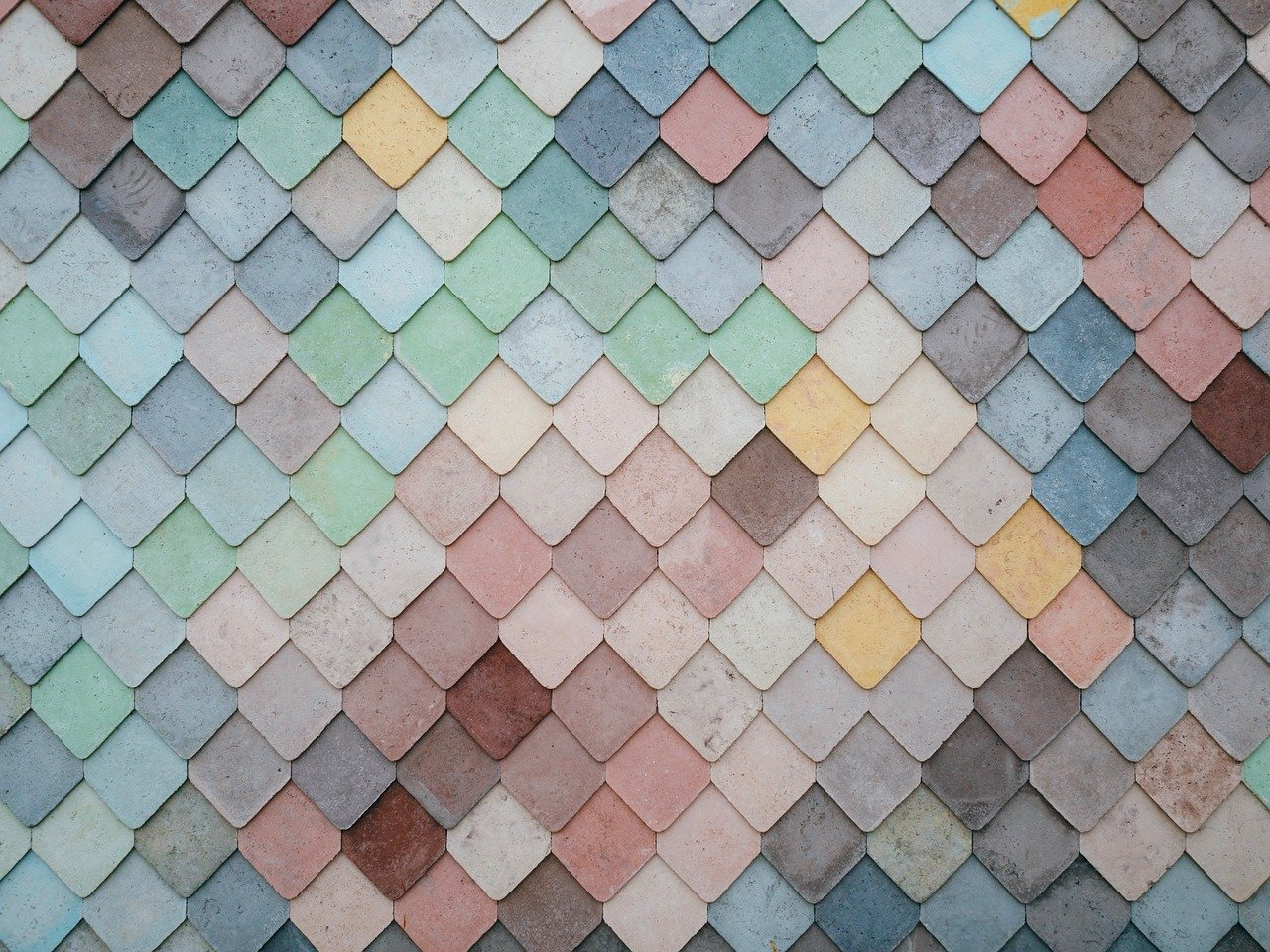 tiles shapes, texture, pattern