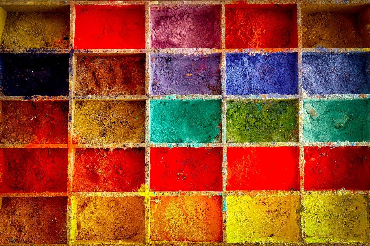 paint, farbpulver, artist color