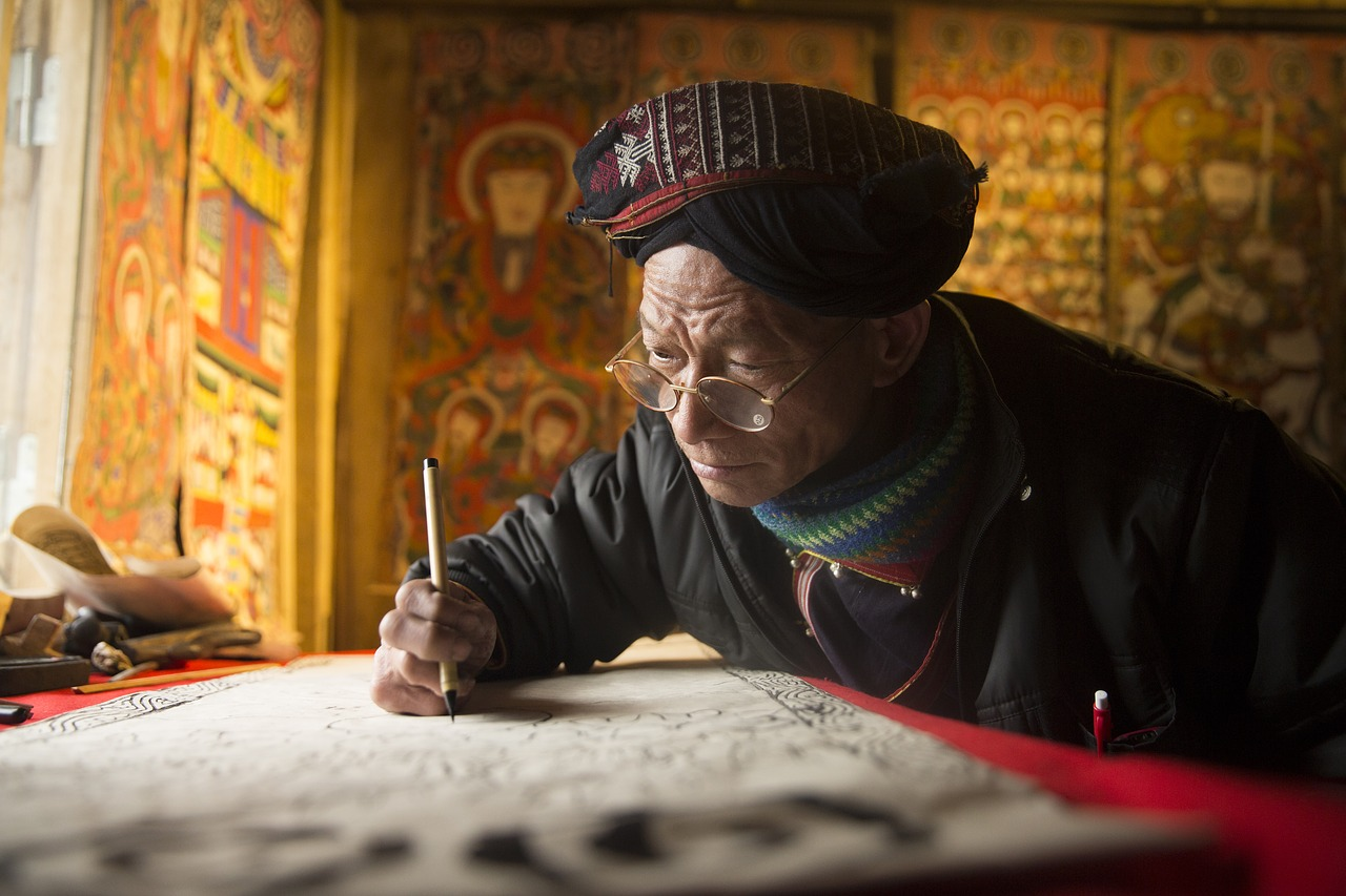 craftsman, artist, traditional