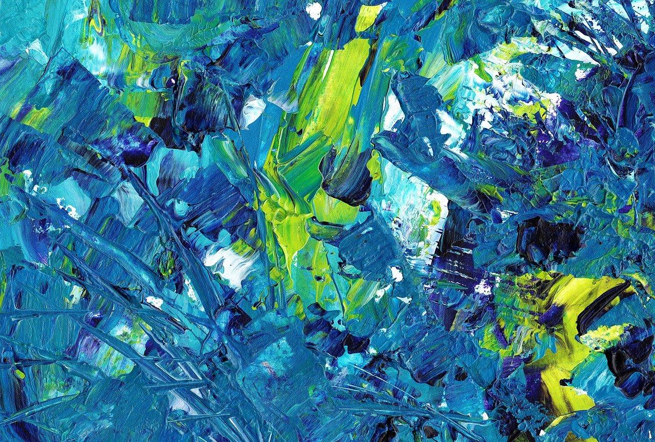 painting, acrylic paint, background