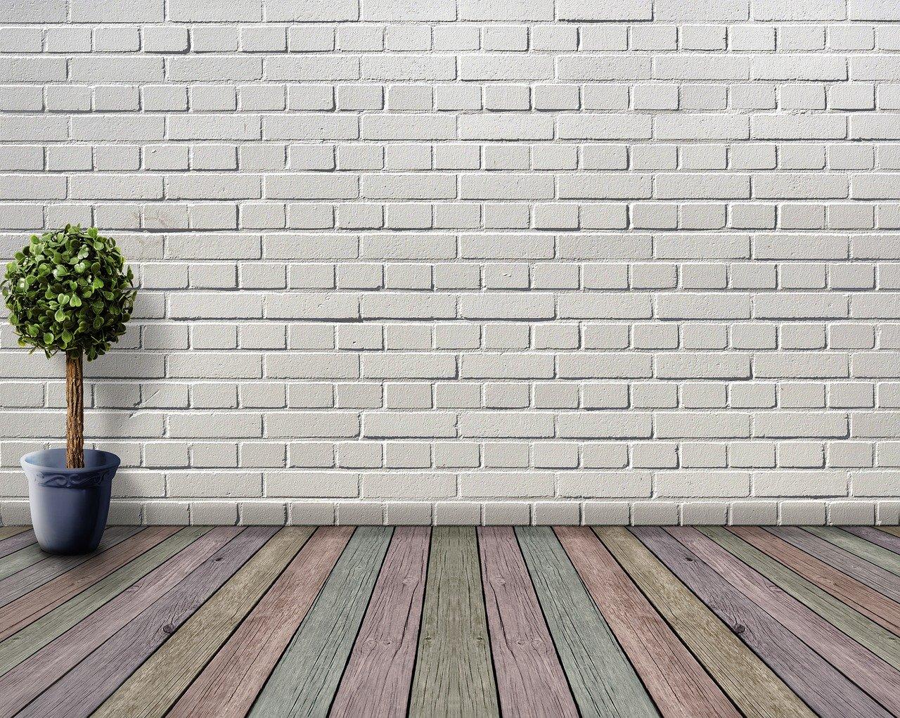 space, empty, wood floor