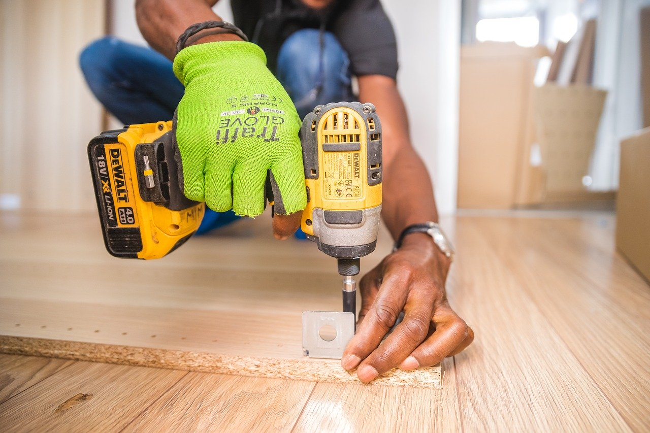 handyman, furniture assembly, drill