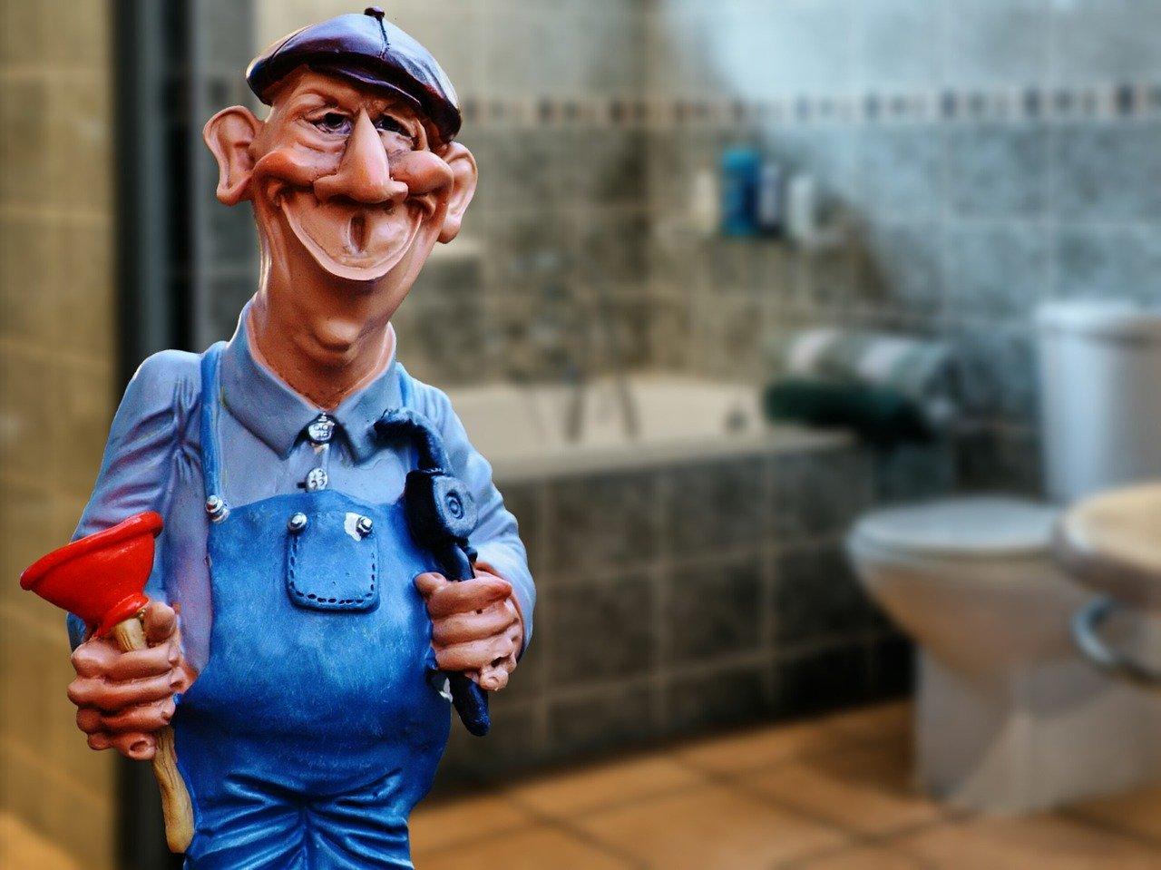 plumber, janitor, pömpel