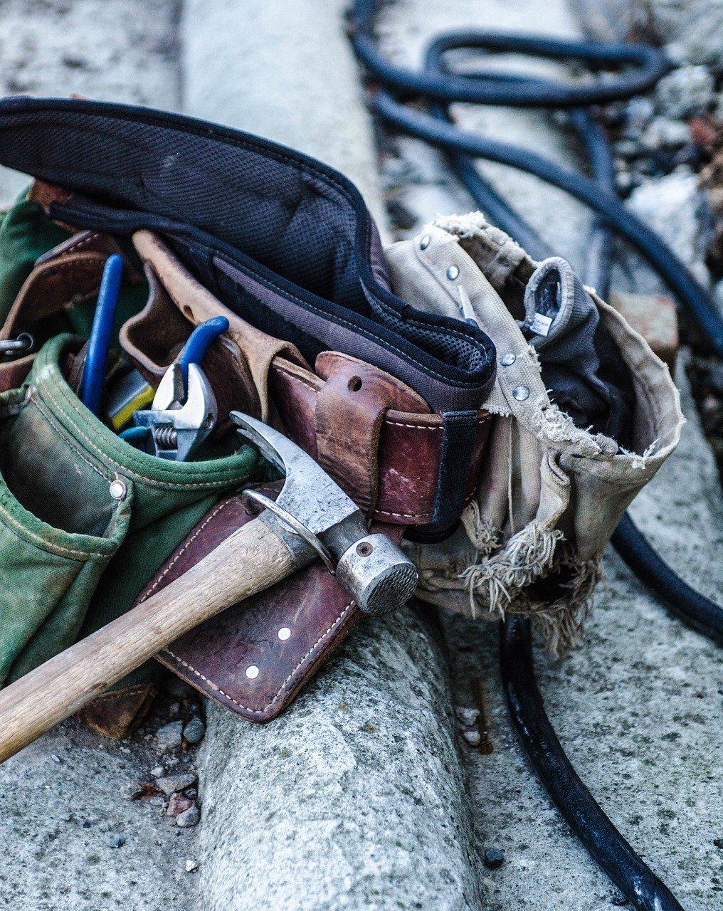 tools, tool belt, belt
