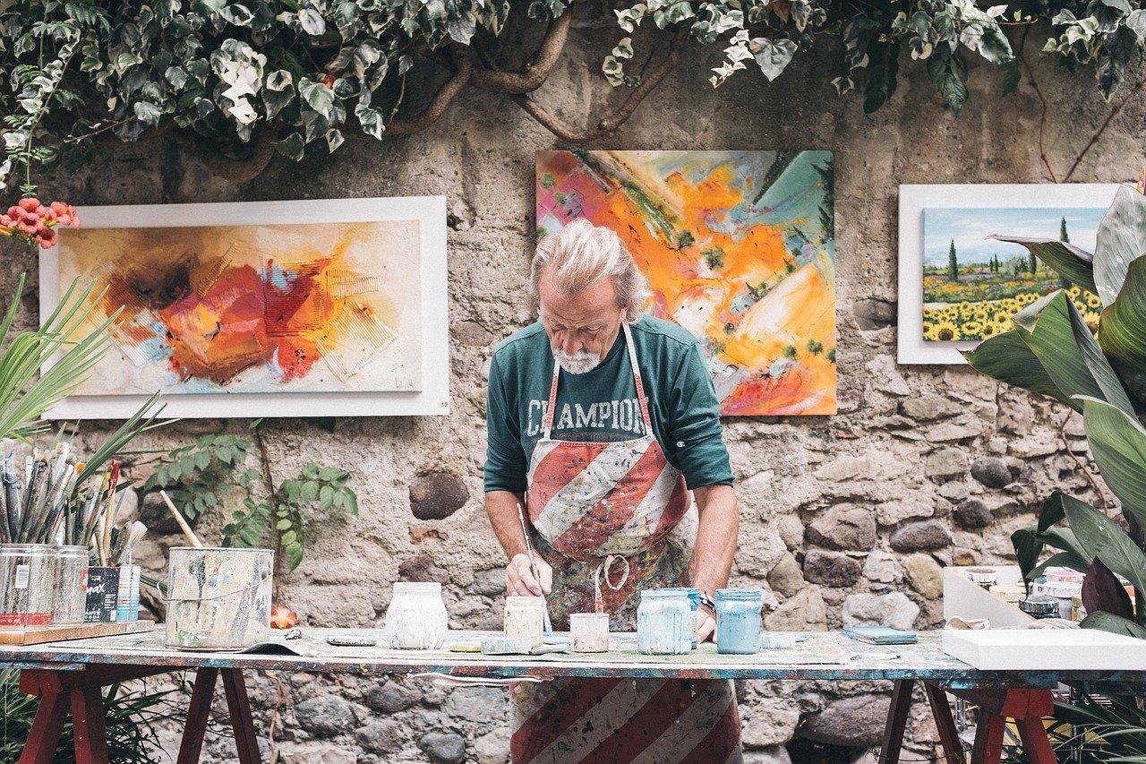 painter, artist, man