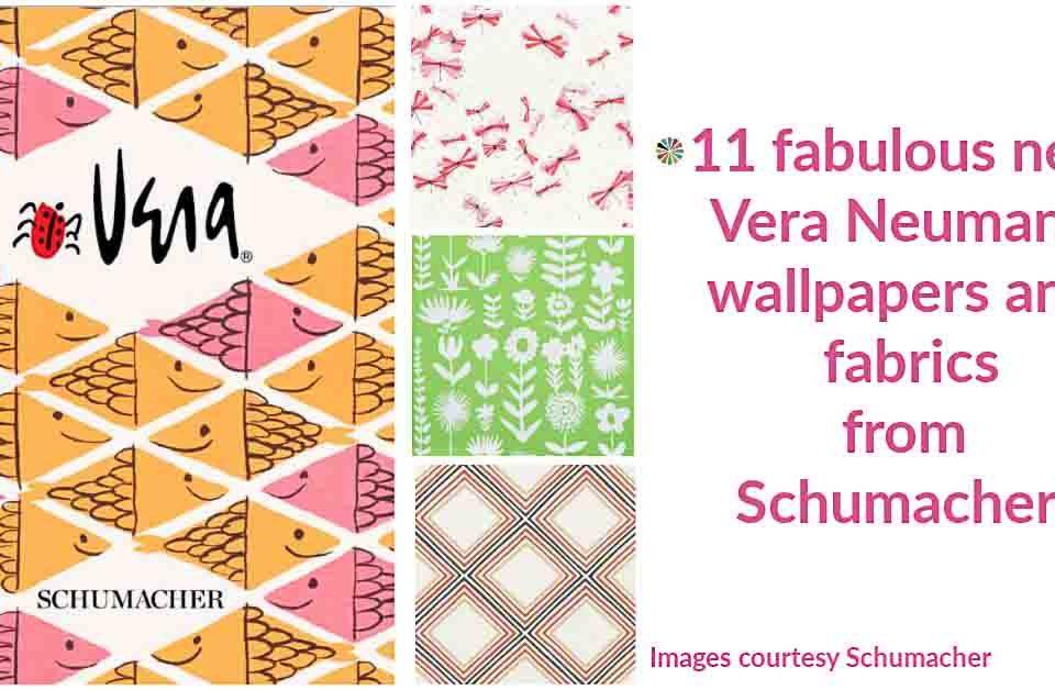 Vera Neumann Wallpaper And Fabrics For F Schumacher Jpg