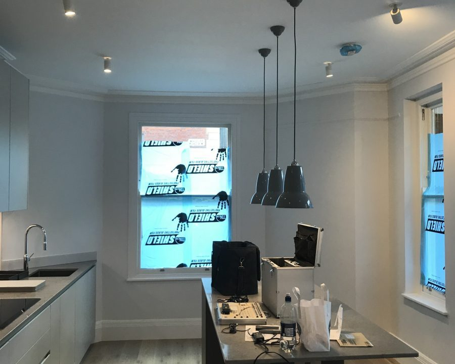 , Battersea – electrical work